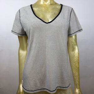 Lauren Ralph Lauren Short Sleeve Tee Striped